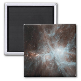 A colony of hot young stars in the Orion Nebula 2 Inch Square Magnet