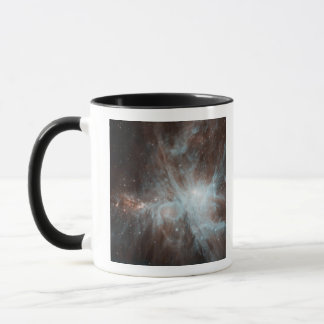 A colony of hot young stars in the Orion Nebula Mug