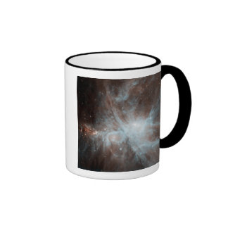 A colony of hot young stars in the Orion Nebula Ringer Coffee Mug