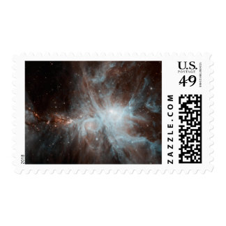 A colony of hot young stars in the Orion Nebula Postage