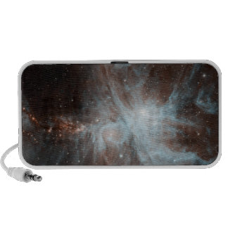 A colony of hot young stars in the Orion Nebula Mini Speakers