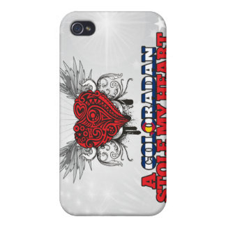 A Coloradan Stole my Heart iPhone 4 Cover