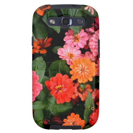 A colorful and stunning display of flowers samsung galaxy SIII case