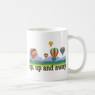 A colorful balloon flying gift - hot Air Balloons Coffee Mug