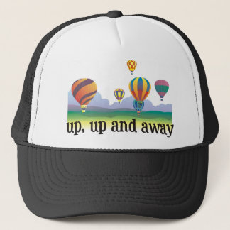 A colorful balloon flying gift - hot Air Balloons Trucker Hat