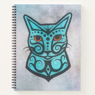 A Colorful Cat #3 Notebook