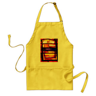 A colorful collage - Basilica of the Annunciation Adult Apron