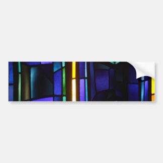 A colorful collage - Basilica of the Annunciation Bumper Sticker