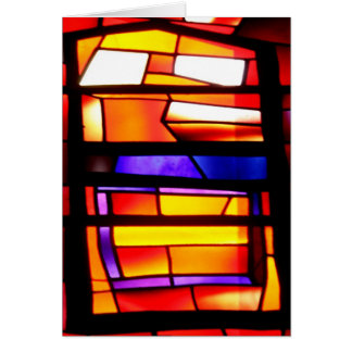 A colorful collage - Basilica of the Annunciation Card