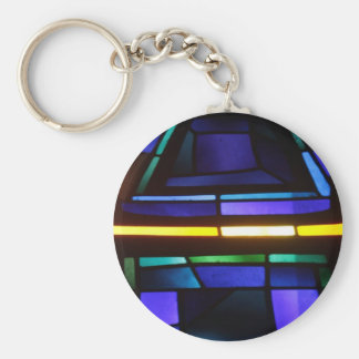 A colorful collage - Basilica of the Annunciation Keychain