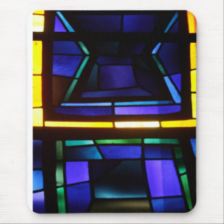 A colorful collage - Basilica of the Annunciation Mouse Pad