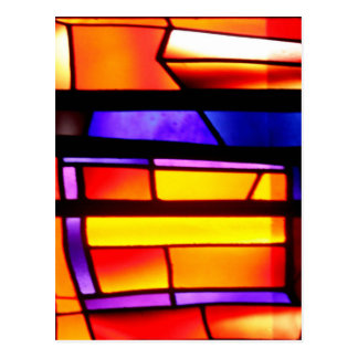 A colorful collage - Basilica of the Annunciation Postcard