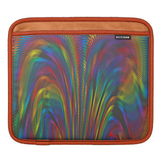 A Colorful Eruption iPad Sleeve