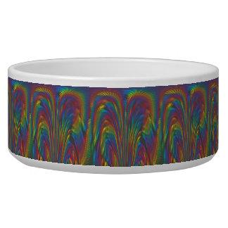 A Colorful Eruption Pet Bowl