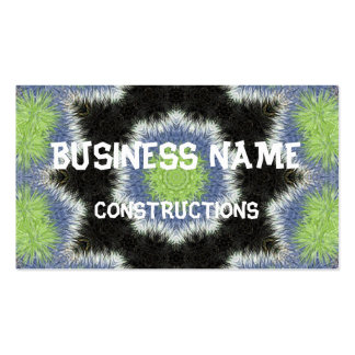 A colorful furry brush pattern Double-Sided standard business cards (Pack of 100)