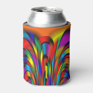 A Colorful Integration Can or Bottle Cooler