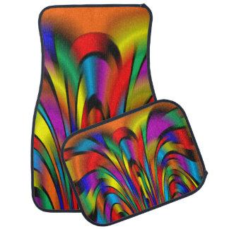 A Colorful Integration Car Mats Floor Mat