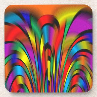A Colorful Integration Coasters
