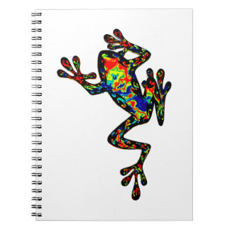 A COLORFUL SHOWING SPIRAL NOTEBOOKS
