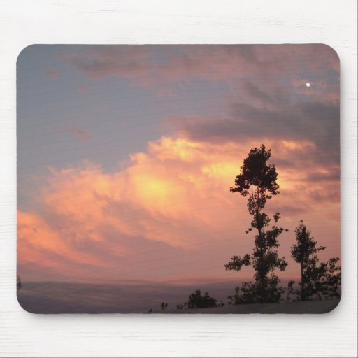 A Colorful Sunset Mousepads