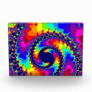 a colorfull custom fractal coil awards