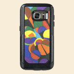 A colourful abstract design OtterBox samsung galaxy s7 case