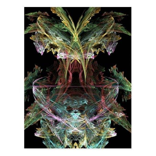 a-colourful-fractal postcards