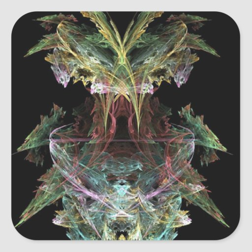 a-colourful-fractal sticker
