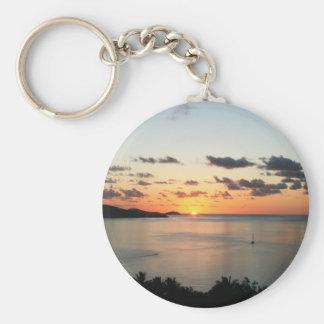 A colourful sunset over Australia's Whitsundays. Keychain