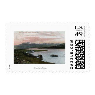 A Columbia River Riverboat Scene Postage