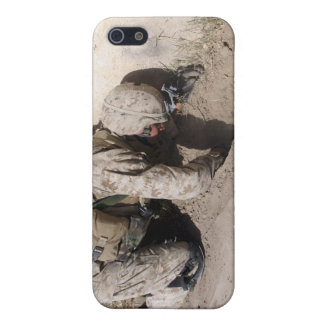 A combat engineer searches for weapons caches iPhone SE/5/5s cover