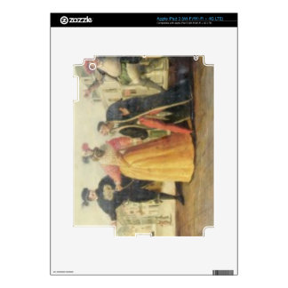 A Commedia Dell'Arte Troupe Before a Renaissance T iPad 3 Skins