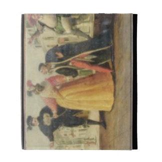A Commedia Dell'Arte Troupe Before a Renaissance T iPad Folio Cases