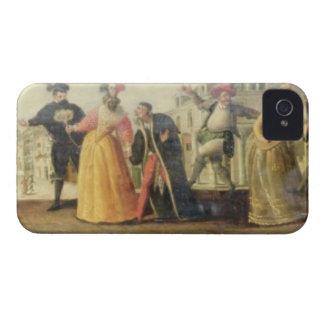 A Commedia Dell'Arte Troupe Before a Renaissance T iPhone 4 Case
