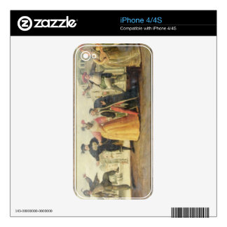 A Commedia Dell'Arte Troupe Before a Renaissance T iPhone 4S Decal