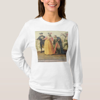 A Commedia Dell'Arte Troupe Before a Renaissance T T-Shirt