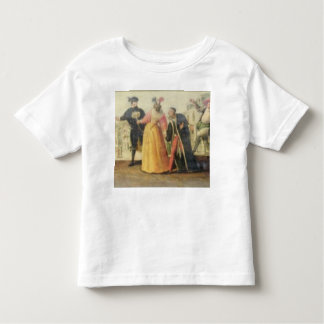 A Commedia Dell'Arte Troupe Before a Renaissance T Toddler T-shirt