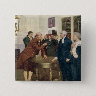 A Committee of Patriots Delivering an Ultimatum Button