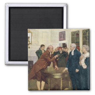 A Committee of Patriots Delivering an Ultimatum Magnet