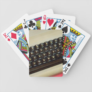 A Commodore 64 8-bit home computer Bicycle Playing Cards