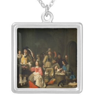 A Company of Soldiers Silver Plated Necklace