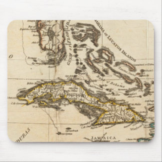 A Compleat Map of the West Indies Mouse Pad
