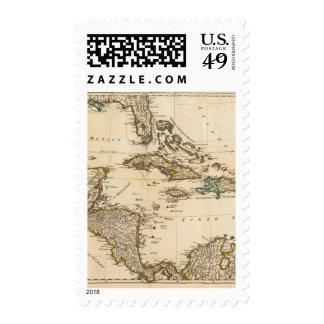 A Compleat Map of the West Indies Stamps