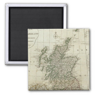 A complete map of the British Isles Magnet