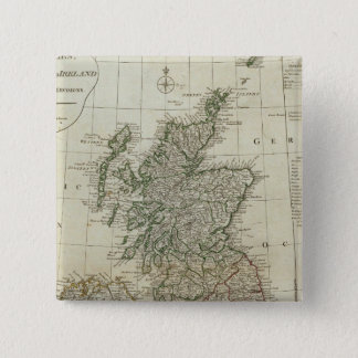 A complete map of the British Isles Pinback Button