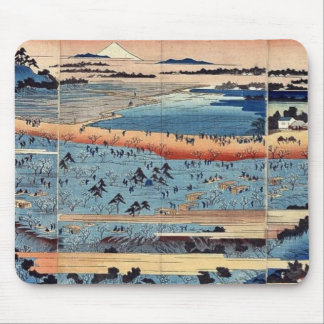 A complete view of Asukayama by Ando, Hiroshige Mouse Pad