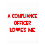 A Compliance Officer Loves Me Postcard