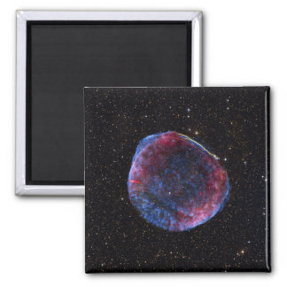 A composite image of the SN 1006 supernova remn 2 Inch Square Magnet