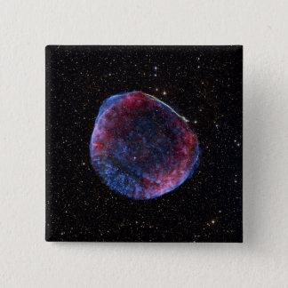 A composite image of the SN 1006 supernova remn Pinback Button