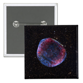 A composite image of the SN 1006 supernova remn Pinback Button